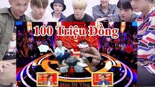"""Tam Mao Thi """"THÁCH THỨC DANH HÀI MÙA 5 """" nhận 100 Triệu Khiến Nghệ Sĩ Kpop BTS ngạc nhiên"""