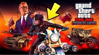 GTA Online ARENA WAR UPDATE! New DLC Releasing Tomorrow!