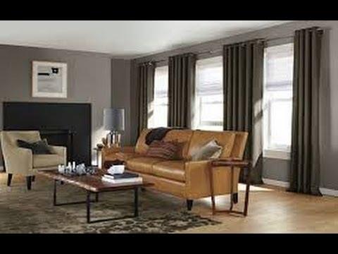 Como hacer cortinas elegantes para salas 8 - YouTube