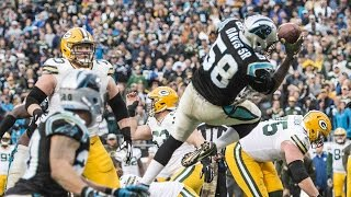 Thomas Davis Interception vs. Packers | Spanish Radio Call