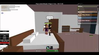ROBLOX OD'ers (Online Daters) having it. O_O