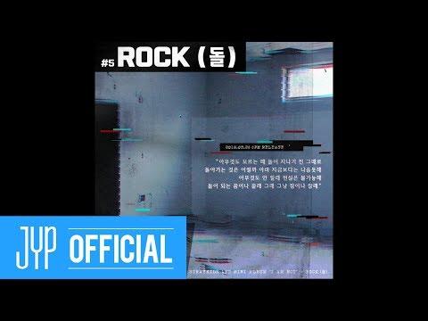 "Stray Kids ""I am NOT"" Inst. Lyric Card 5 ""ROCK (돌)"""