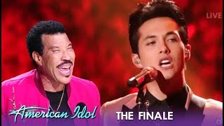 Laine Hardy: Lionel Richie Calls This Finale Performance NASTY! | American Idol 2019