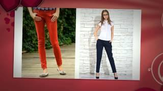 С чем носить бежевые брюки укороченные и классические, длины 7/8, летом и весной, фото и видео