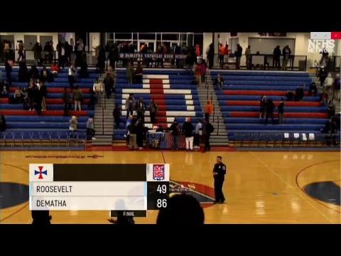 12/6/17 High School Basketball DeMatha Catholic vs. Eleanor Roosevelt