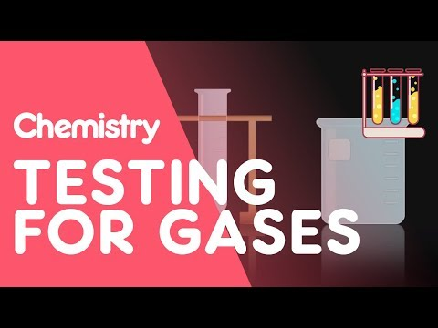 Testing For Hydrogen, Oxygen, Carbon Dioxide, Ammonia And Chlorine | Tests | Chemistry | FuseSchool