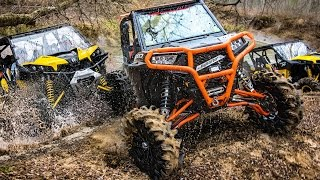 Epic SXS + ATV Off-Road Action & Carnage Compilation - Polaris vs Can-Am vs Yamaha Comparison