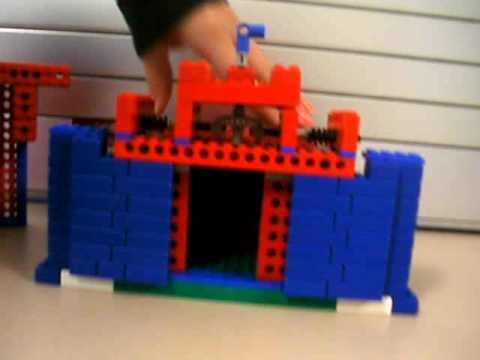 Lego Costco Mechanical Doors & Lego Costco Mechanical Doors - YouTube