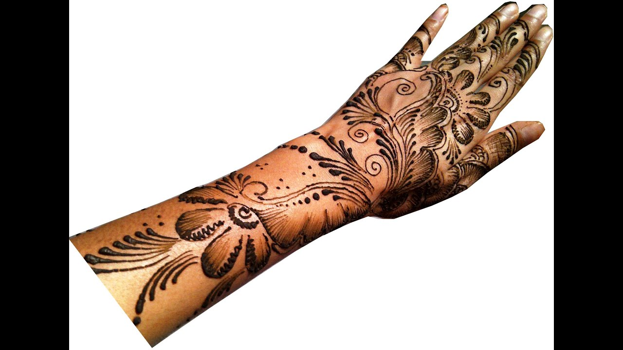 Mehndi Designs Kangan : Quick arabic mehandi design youtube