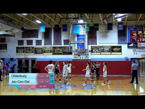 JCD vs Oldenburg Academy Girls Basketball