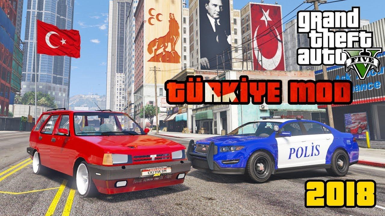 GTA 5 YENİ TÜRKİYE MODU - MUHTEŞEM YENİLİKLER!