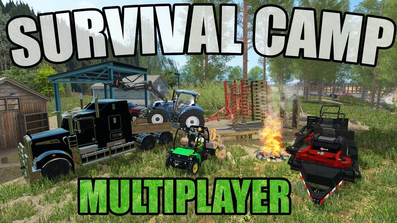 Farming Simulator 2017 Survival Compound Farming