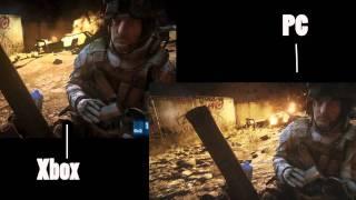 Battlefield 3 Xbox VS PC comparison