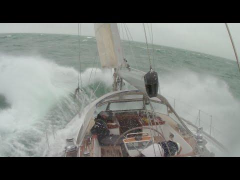 Hallberg-Rassy 48 heavy weather