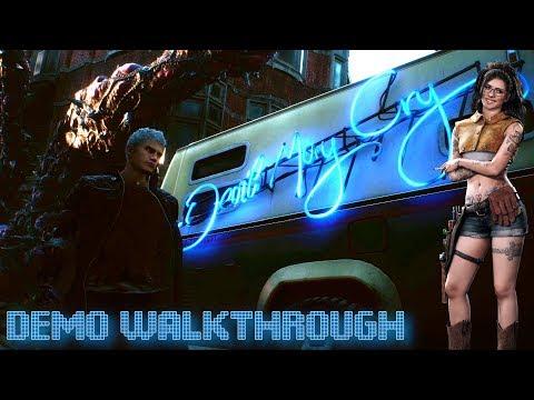 Devil May Cry 5 Demo Прохождение thumbnail