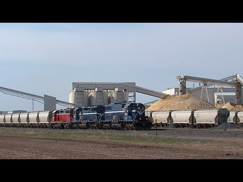 Frac Sand Mining & Trains In Wisconsin's Chippewa Valley