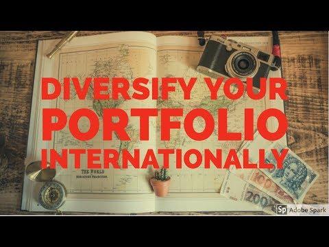 THE BEST WAY TO DIVERSIFY YOUR PORTFOLIO INTERNATIONALLY: International stocks, emerging market ETFs