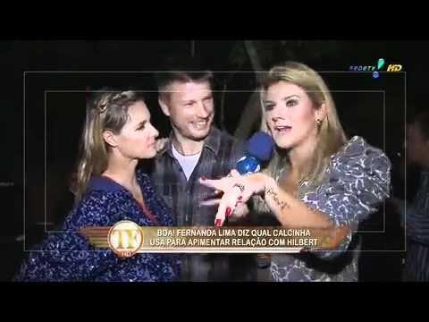 Mirella entrevista Fernanda Lima e Rodrigo Hilbert