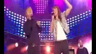 Topp 20 show in Oslo Norway, Kurt Nilsen and Melanie C.
