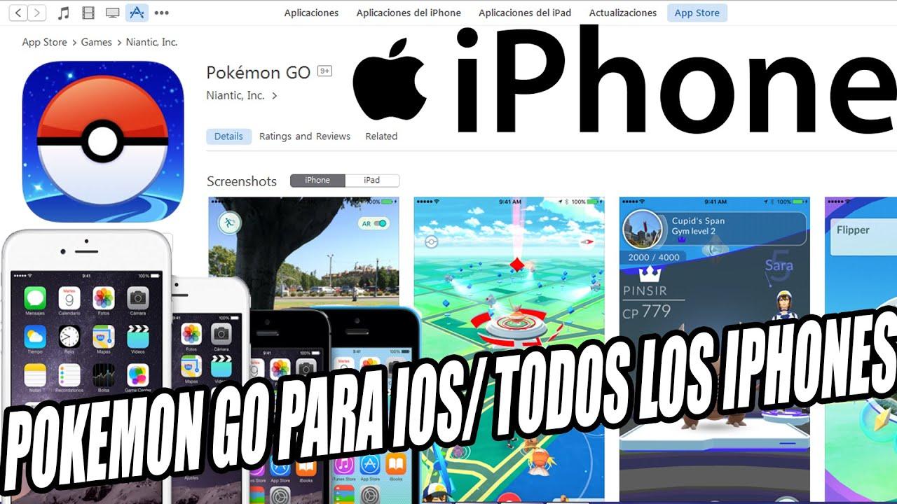 Pokemon Go Iphone 4s