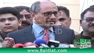 Saeed Ghani says Work on S-III Sewerage project in Karachi underway