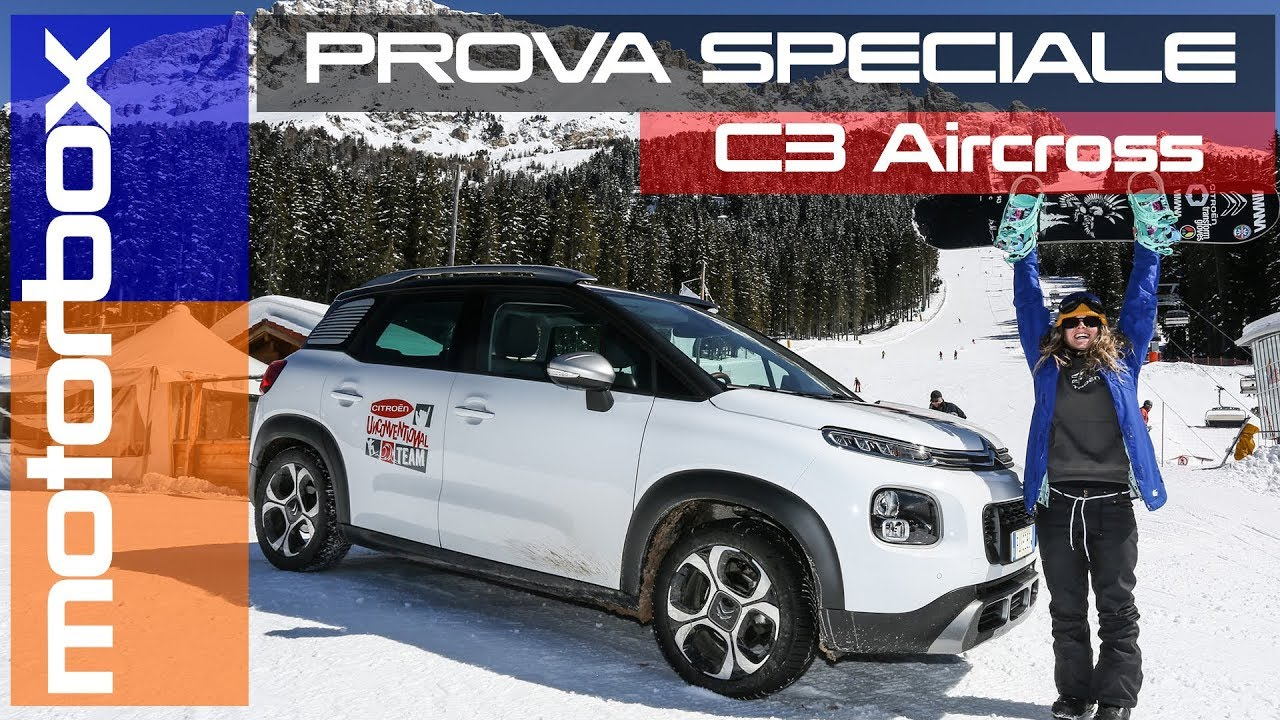 citroen c3 aircross in montagna senza il 4x4 dove si arriva youtube. Black Bedroom Furniture Sets. Home Design Ideas