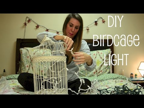 BIRDCAGE LIGHT DECOR