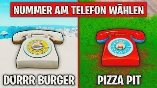 Fortnite: Wähle die Nummer von Durrr Burger und Pizza Pit! ☎ Woche 8 Herausforderung | Detu