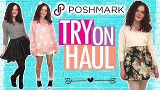 Poshmark Try On Haul! 10 Cute Things I Bought on Poshmark!  Shop My Closet!