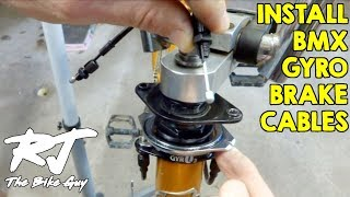 Install Brake Cables On BMX Bike With Gyro/Rotor/Detangler