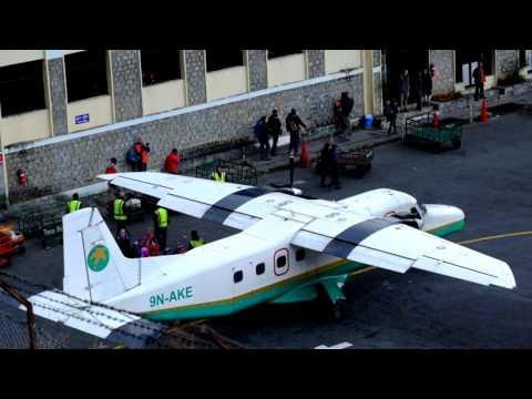 globalgilroy - Lukla Airport - Nepal - 2 of 3 - morning arrival & departures