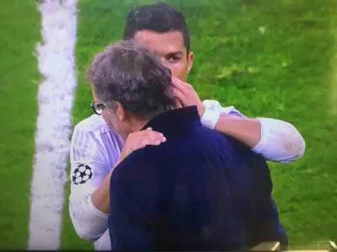 Mais qu'a pu dire Cristiano Ronaldo à Laurent Blanc ?