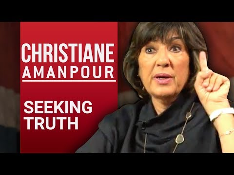 CHRISTIANE AMANPOUR - SEEKING TRUTH - Part 1/2 | London Real