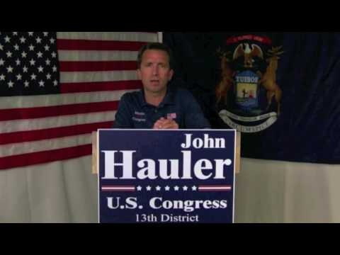 John Hauler Candidate for Michigans 13th US Congressional ...