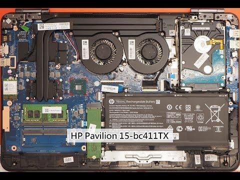 HP Pavilion 15-bc411TX 拆機 (2018.08)