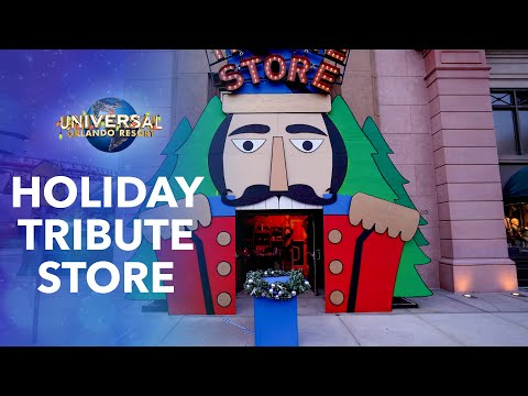 EXCLUSIVE: First Look at the 2020 Universal Holidays Tribute Store