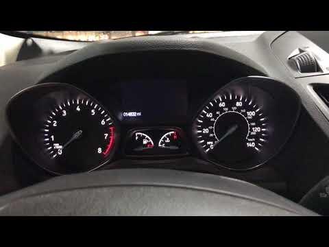 2017 Ford Escape - Service Oil Reset Procedure