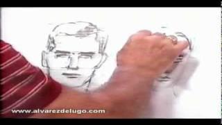 Luis Alvarez de Lugo - Cómo dibujar un Retrato Parte 2