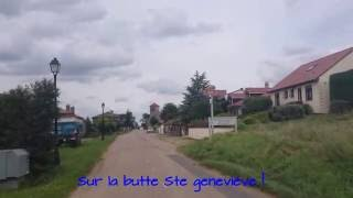 Cyclo Randonnée les Buttes témoins autour de Nancy/Toul/madine - Meurthe et Moselle