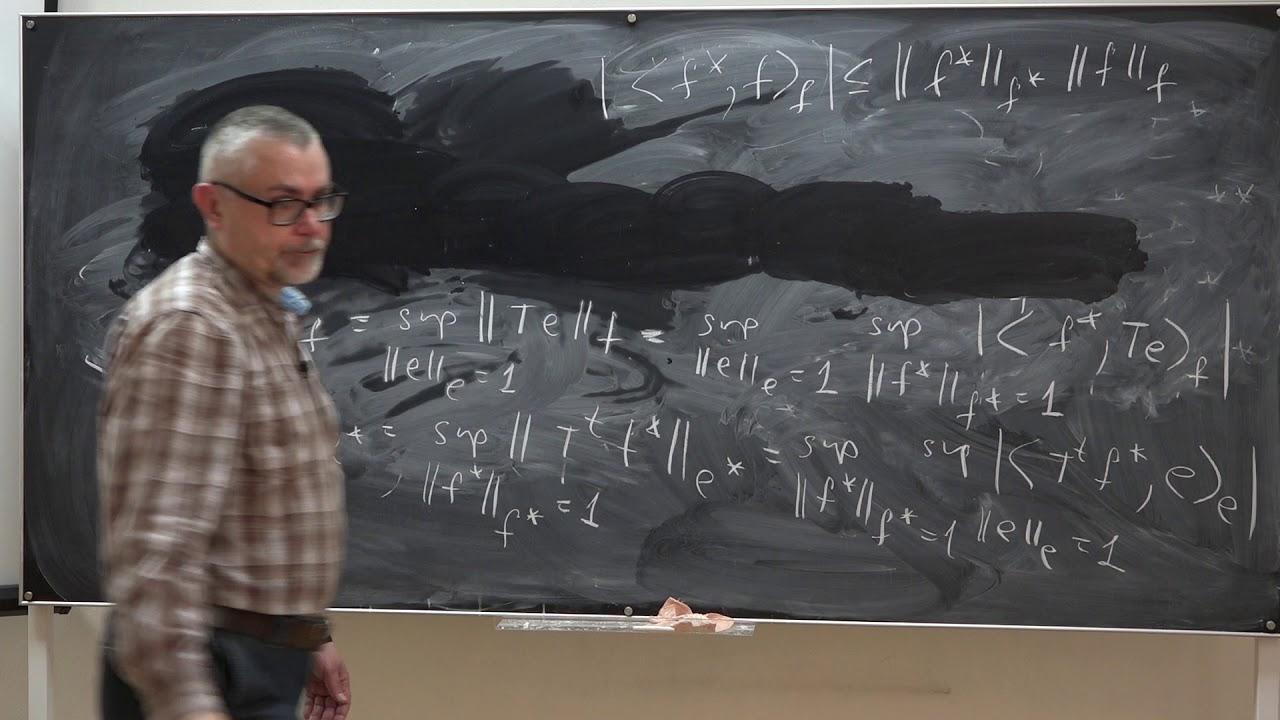 Корпусов М. О. - Линейный и нелинейный функциональный анализ. Часть 2 - Лекция 9