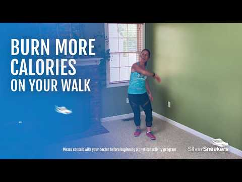 Burn More Calories on Your Walk