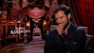 Jude Law Says His Character in Anna Karenina Is Not