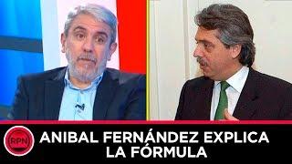 Anibal Fernández banca fuerte a Alberto y da cátedra acerca de porque es el candidato ideal