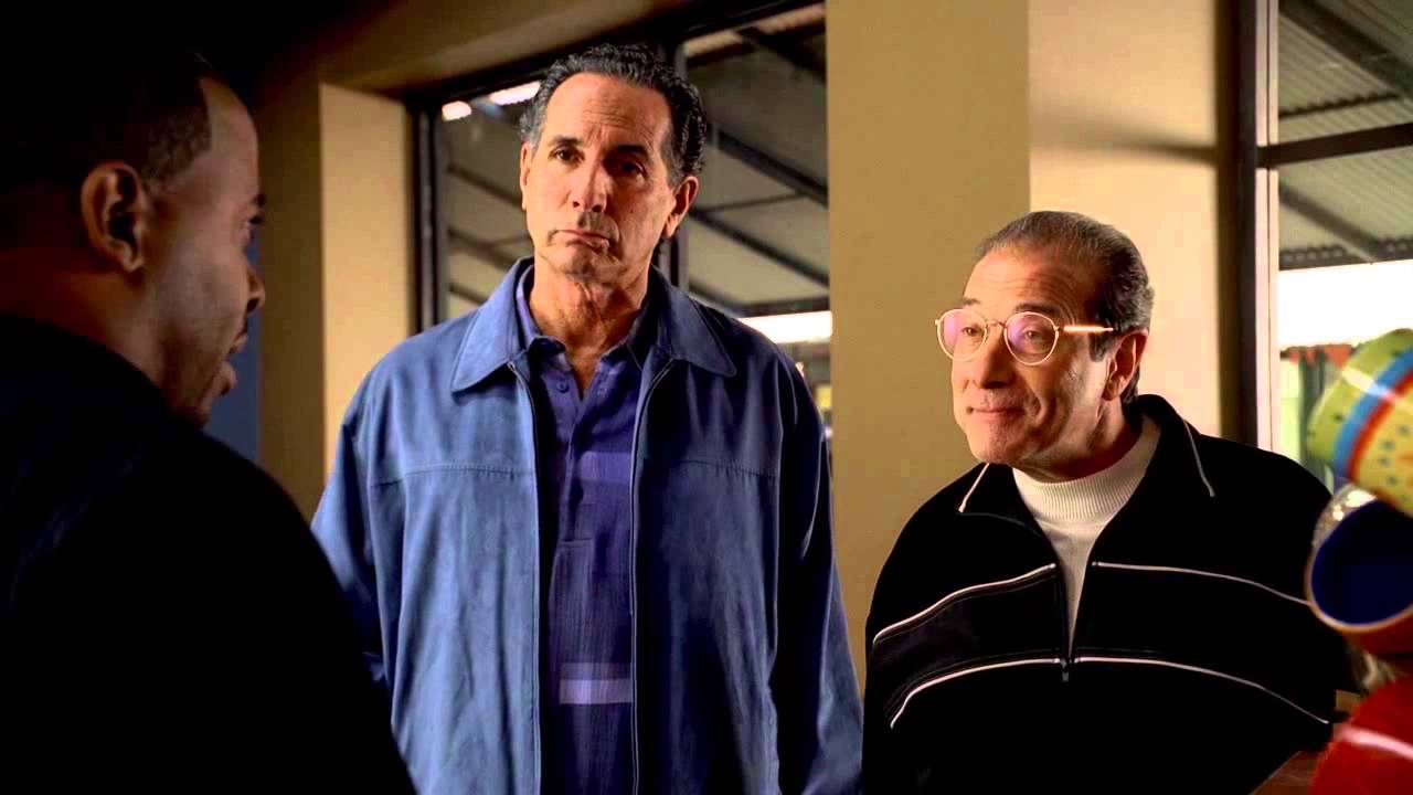 """Download The Sopranos - Patsy and Burt failed extortion attempt at """"Starbucks"""""""