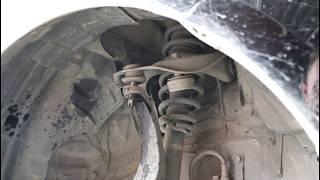 Замена передней верхней шаровой опоры  Mazda 6 Мазда 6 2007 года