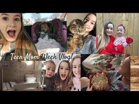 Teen Mom Vlog! (Valentine's Day, ikea, post office, etc)