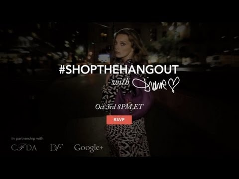 Shop the Hangout with DVF