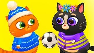 МЕЧТА КОТЕНКА РОМЫ с Шариками - КОТЕНОК БУБУ #46 Гоночная трасса Супер Видео для детей #ПУРУМЧАТА