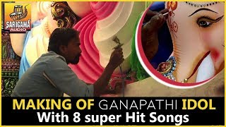Making Video of Ganapathi Idol | Dhoolpet Ganesh 2018 Making | 2018 Vinayaka Chavithi Special Songs