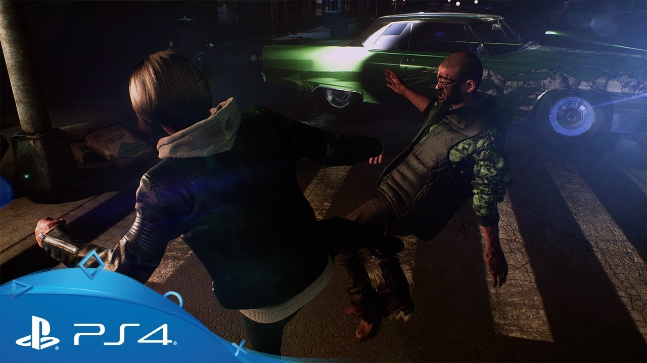 The Quiet Man | Combat Gameplay Trailer | PS4